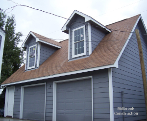 New Garage built by Millbrook-Construction