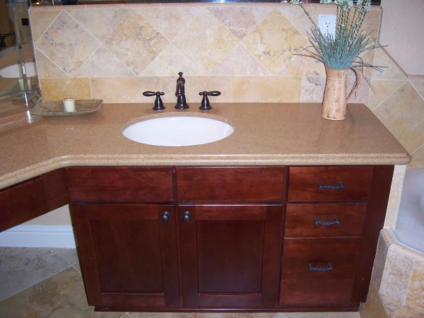 Millbrook Construction - Bathroom remodel - Her Sink