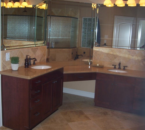 Millbrook Construction - Bathroom remodel - Vanity