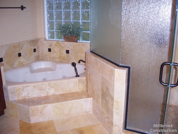 Millbrook Construction - Bathroom remodel - Bathtub and Shower
